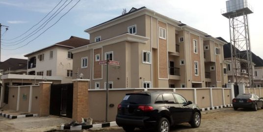 2 STOREY BUILDING BEING A BLOCK OF 6 FLATS for sale located in Agungi, Lekki, Lagos.