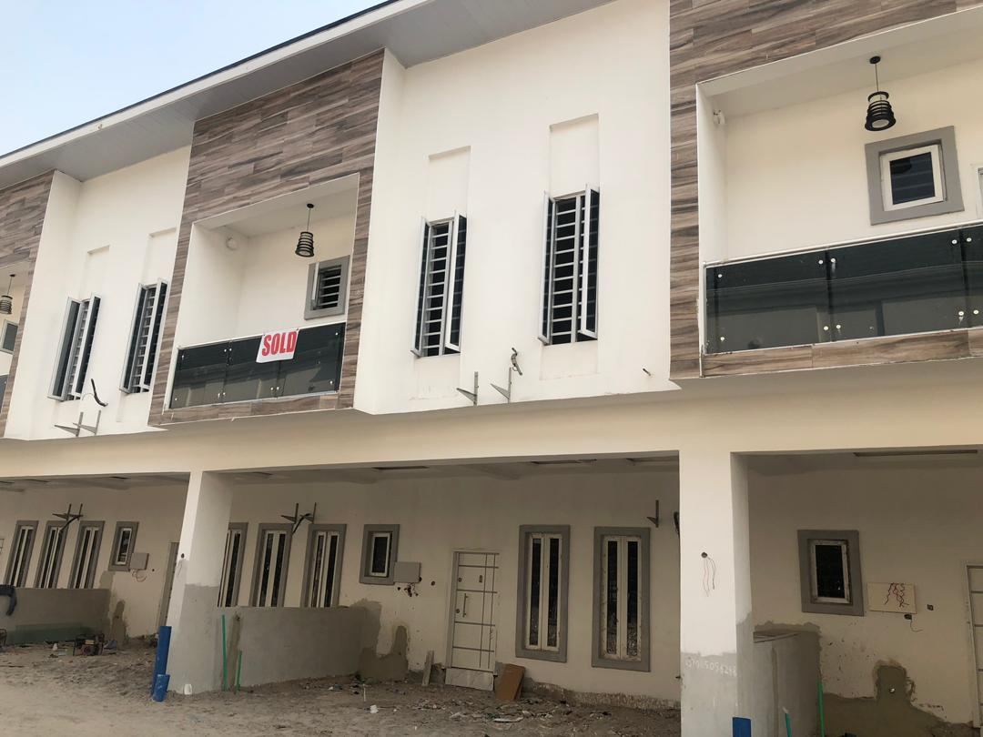 Brand New 4 Bedroom Terrace Duplex