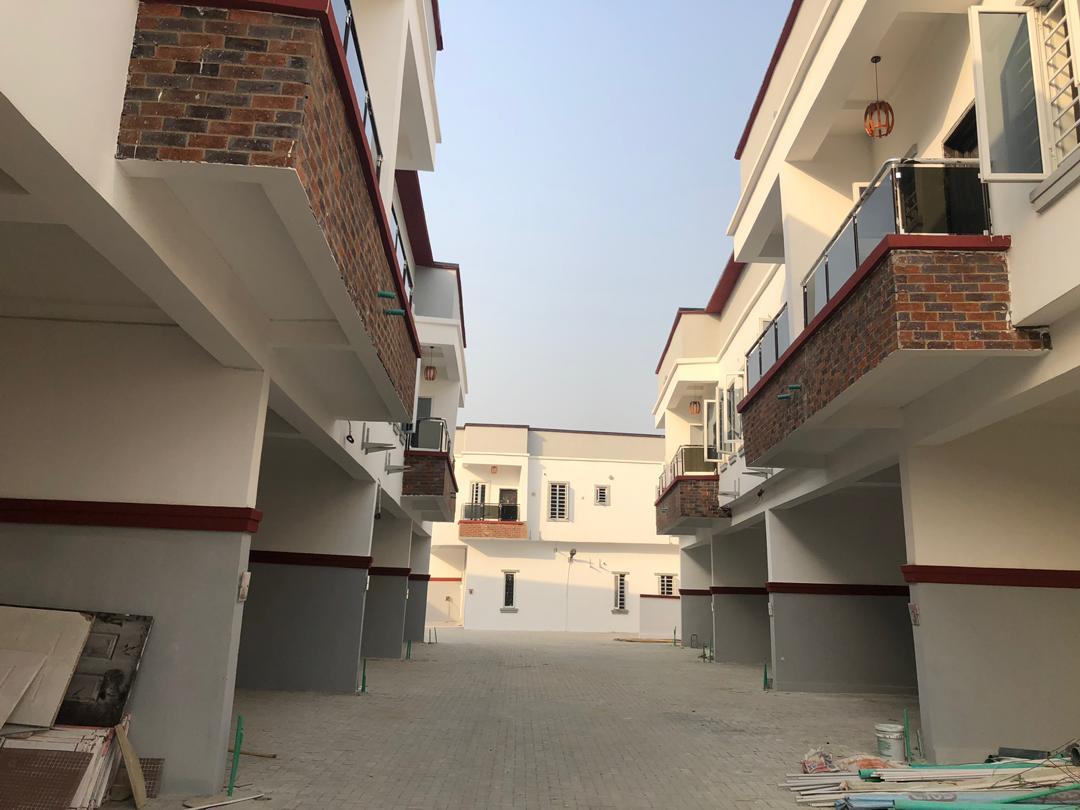 New4 Bedroom Terrace Duplex