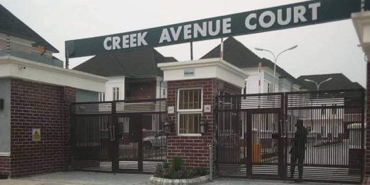 CREEK AVENUE COURT ESTATE IKOTA VILLA LEKKI LAGOS NIGERIA